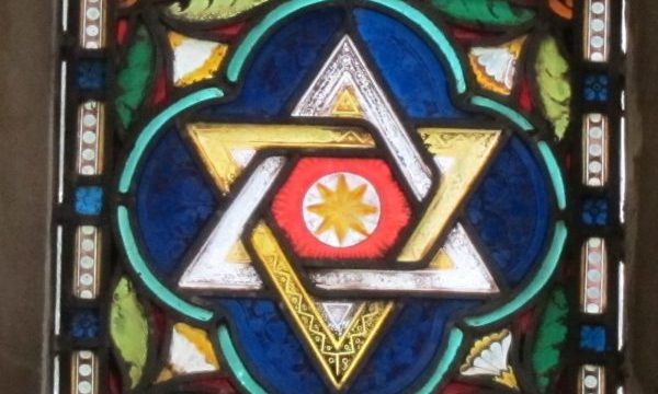 star of David, Windermere UK by Ana Gobledale