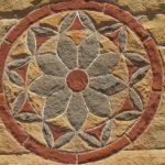 flower in stone art