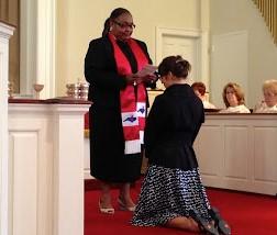 Thandiwe's ordination