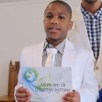 baptism with certificate