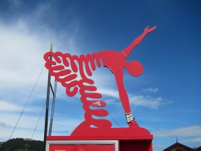 Harbour art, Wellington NZ, Ana Gobledale