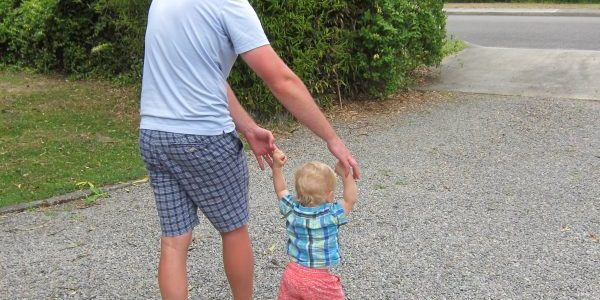 Father & Son, New Zealand — Ana Gobledale