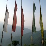 Nepali prayer flags, Thandiwe Dale-Ferguson