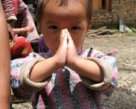 Namaste, Nepal — photo by Thandiwe Dale-Ferguson