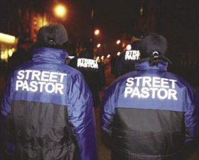 Street pastors in Basingstoke, UK