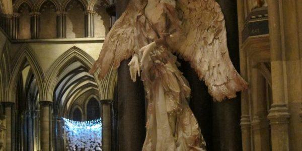 Angel, Salisbury Cathedral, UK — Ana Gobledale