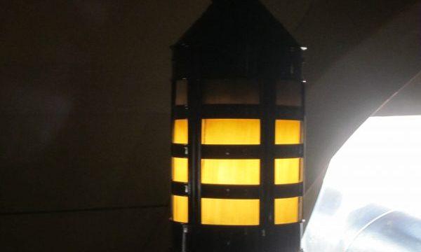 lamp Victory ship, Portsmouth UK