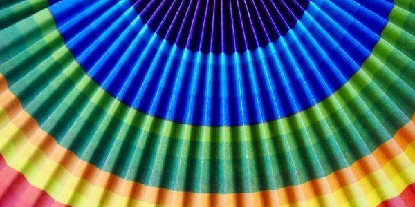 rainbow fan – Thandiwe Dale-Ferguson