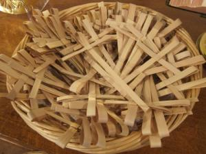 palm crosses, London -- Ana Gobledale