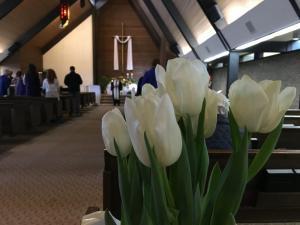 Easter, Kirkland United Church of Christ, Washington USA -- photo by Ben Ulrich