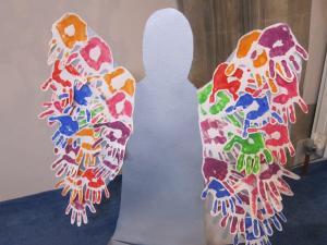Angel Festival Salisbury URC - hand angel