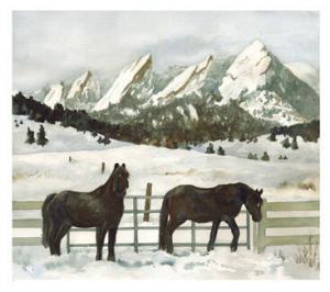Snowy Day in Boulder, Anne Gifford, Cairn Christian Church