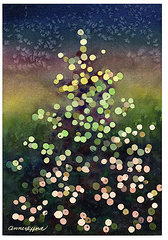 Light up the Season,art by Anne Gifford, Colorado USA