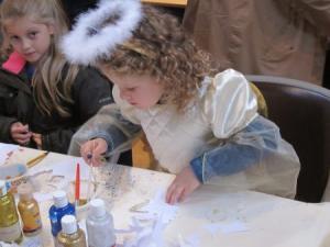 Children angel craft, UK