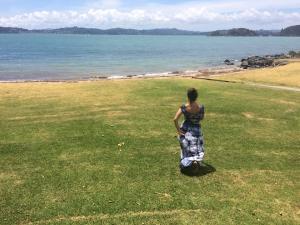 Dancing in New Zealand -- by Mandla Daley