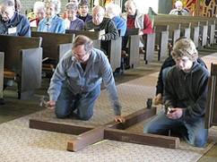 Good Friday, Kirkland United Church of Christ, Washington -- photo by Ben Ulrich