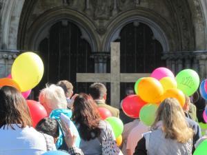 Good Friday Salisbury Walk of Witness -- Ana Gobledale