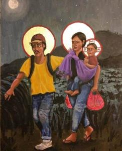 Holy Family by Kelly Latimore