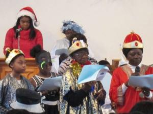 Nativity at St Andrew's -- photo by Ana Gobledale
