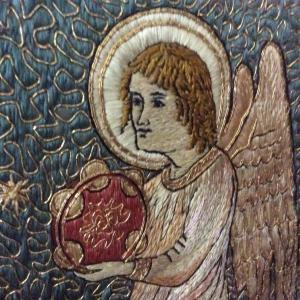 Angel at Chichester Cathedral UK -- Ana Gobledale, UK