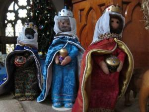 Nativity Scene made by Joy Purchase, UK -- photo by Ana Gobledale