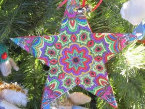 Star, Charity Christmas Tree Festival, St Thomas Church, Salisbury UK -- Ana Gobledale