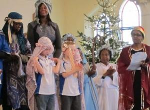 Nativity in London by Ana Gobledale
