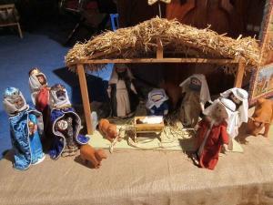 Nativity, Salisbury United Reformed Church, UK; photo by Ana Gobledale