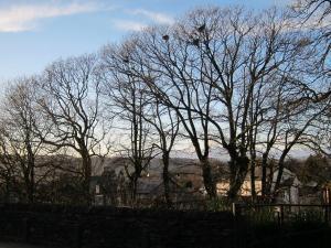 Cumbria sky, UK -- photo by Ana Gobledale