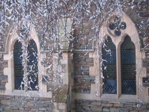 Carver Church in winter, Cumbria UK -- Ana Gobledale