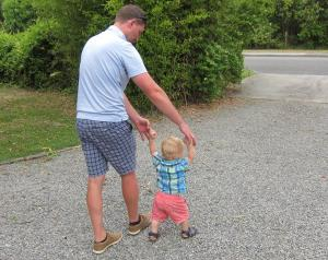 Father  Son, New Zealand -- Ana Gobledale