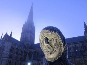 Mary, Salisbury Cathedral, UK -- Ana Gobledale