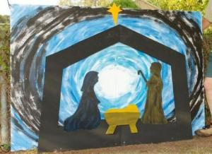 Nativity -- photo by Kathy Schultz, Australia