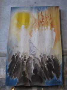 Pentecost Douia france -- photo by Ana Gobledale