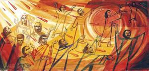 Pentecost - artist unknown