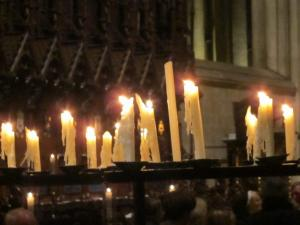 Salisbury Cathedral UK, Advent service -- by Ana Gobledale 2