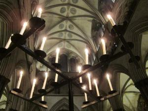 Salisbury Cathedral UK, Advent service, by Ana Gobledale