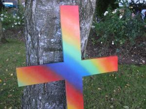 Salisbury Pride, Robyn's cross -- Ana Gobledale
