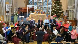 Salisbury choir and Die Kleine Kappela