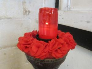 St Mary Redcliffe, Bristol UK, Remembrance candle - Ana Gobledale, UK