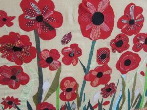St Mary Redcliffe, Bristol UK, Remembrance stitchery - Ana Gobledale, UK