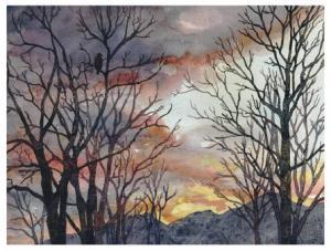 Winter Watch by Anne Gifford, USA