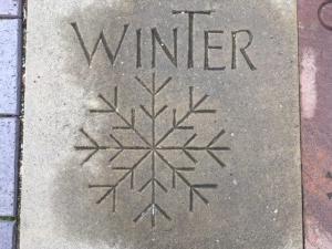 Winter, Basingstoke UK -- photo by Ana Gobledale