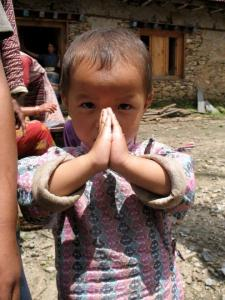 Namaste, Nepal -- photo by Thandiwe Dale-Ferguson